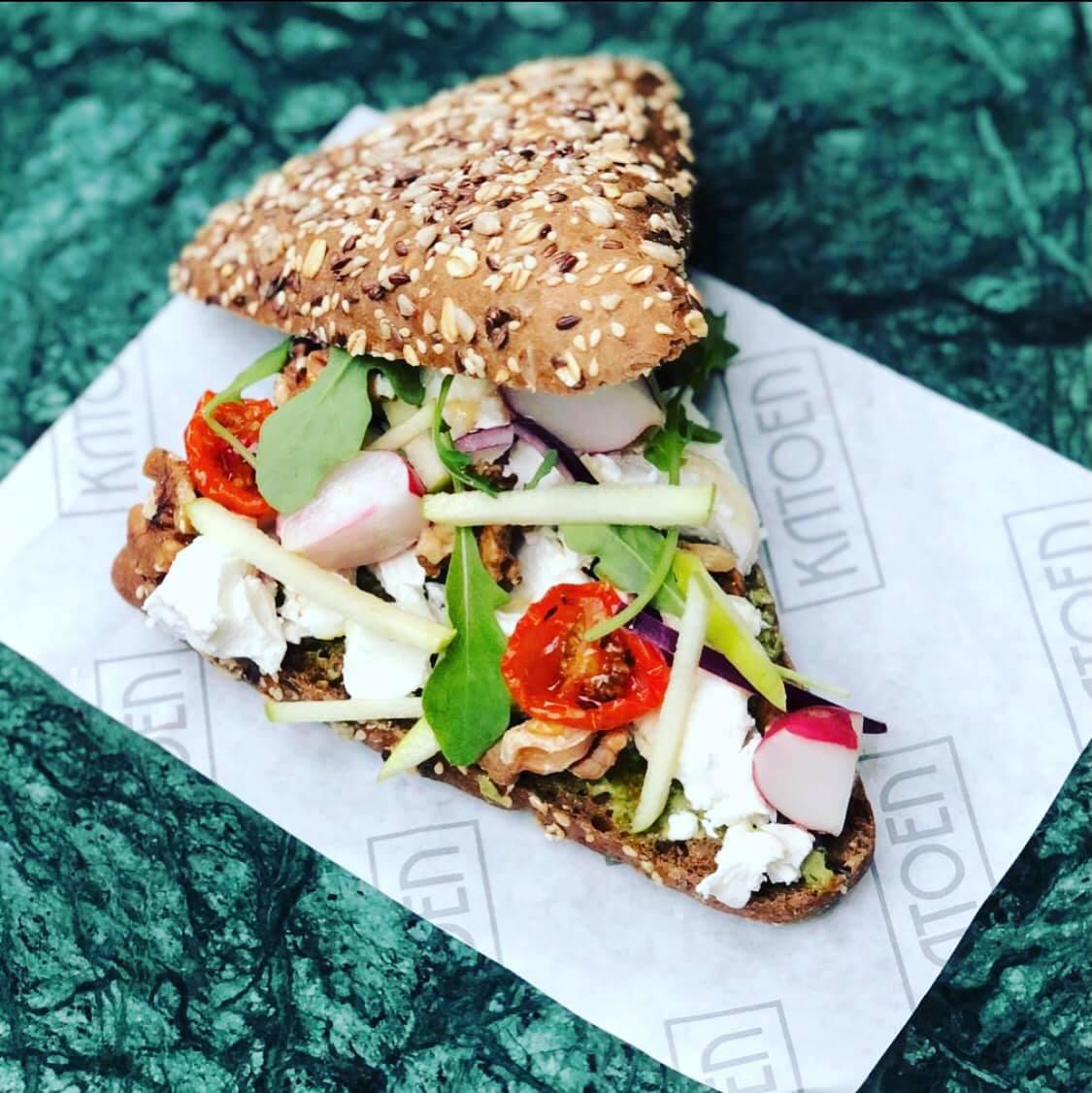 hamburgerpapier voor belegde broodjes