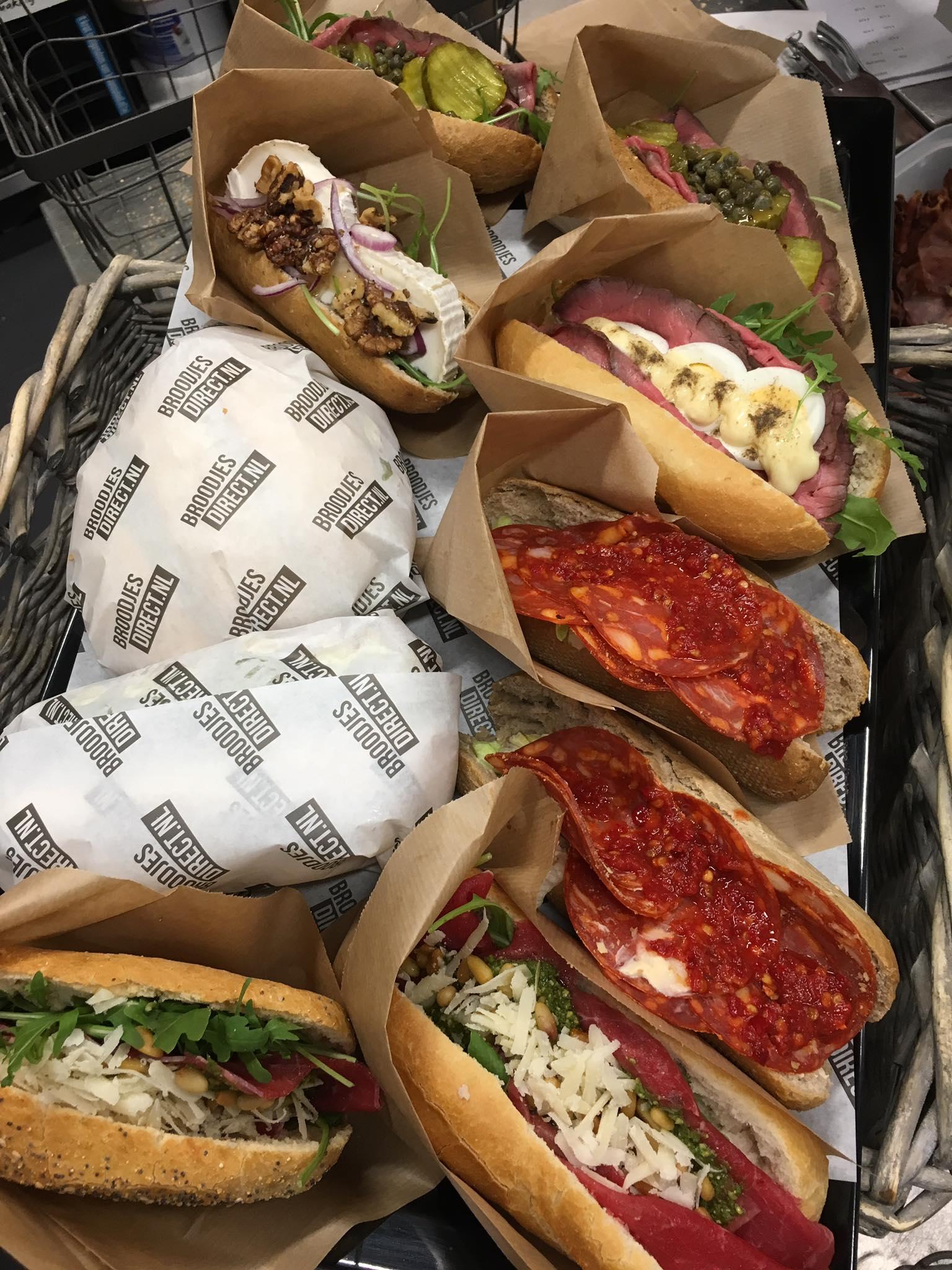 hamburgerpapier voor verpakken broodjes