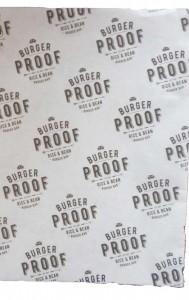hamburger papier bedrukken burgerproof
