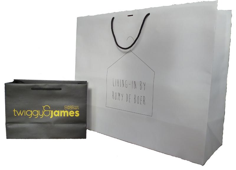 Diduca luxe papieren tassen bedrukken diduca for Papieren zakken bedrukken