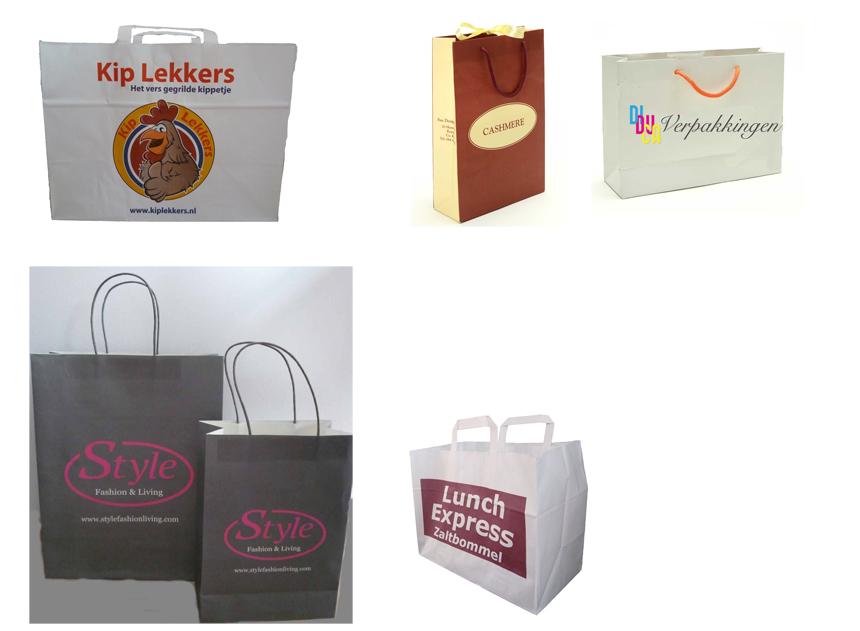 Diduca papieren draagtassen bedrukken for Papieren zakken bedrukken
