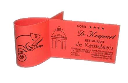 Diduca bedrukte papieren servetringen for Papieren zakken bedrukken