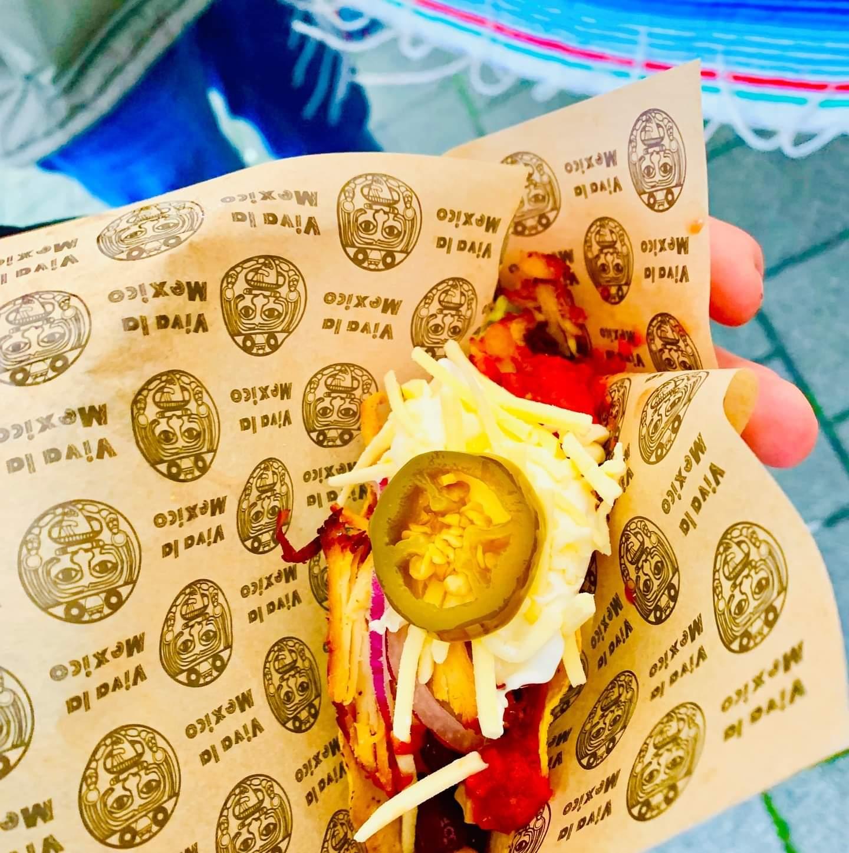 hamburgerpapier voor taco's