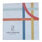 vetvrij papier bedrukt tosti creative